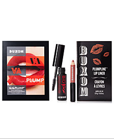 Receive a FREE 3-Pc. Gift with any $35 Buxom Cosmetics purchase