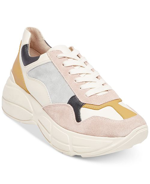 dbedeac03f8 Steve Madden Women s Memory Chunky Sneakers   Reviews - Athletic ...
