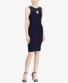 Lauren Ralph Lauren Petite Sequin Jersey Dress