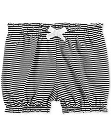 Carter's Baby Girls Striped Cotton Bubble Shorts