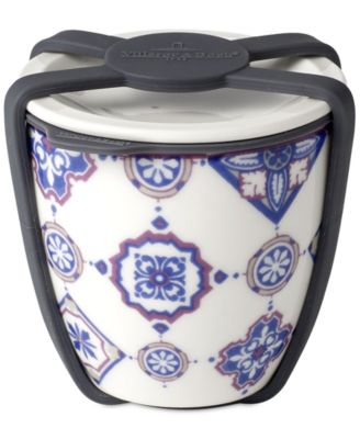 Modern Dining  Indigo Small Dish with Lid