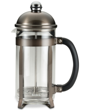 BonJour Stainless Steel & Glass 33.8-Oz. French Press