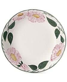 Rose Sauvage Heritage Rim Soup Bowl