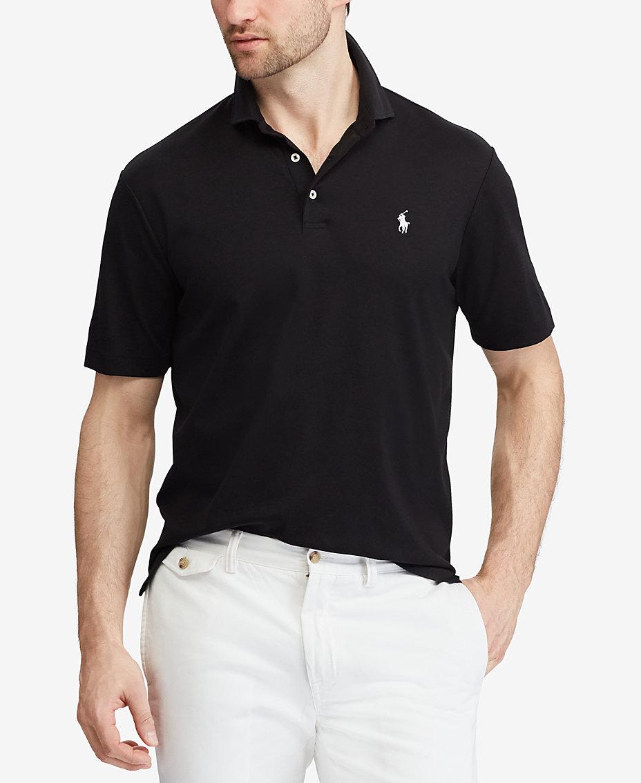 Polo Ralph Lauren Mens Classic Fit Soft Touch Polo Polos Men