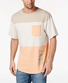 DKNY Men's Colorblocked Pocket T-Shirt, Created for Macy's
