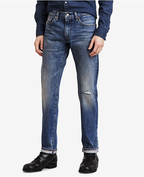 af83c74c665 Levi's 511™ Slim Fit Selvedge Warp Stretch Jeans & Reviews - Jeans ...