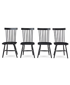 Bensen Dining Chair, 4-Pc. Set (Set of 4 Chairs), Created for Macy's