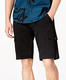 "I.N.C. Men's Shook Cargo 11"" Shorts, Created for Macy's"
