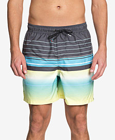 Quiksilver Men's Swell Vision Stripe Volley Shorts