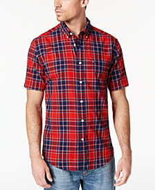 Tommy Hilfiger Men's Lincoln Plaid Shirt, Created for Macy's