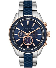 Chronograph Two-Tone Stainless Steel Bracelet Watch 46mm