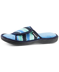 Isotoner Signature Women's Drew Adjustable Slide Slippers with Memory Foam