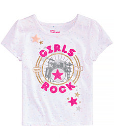 Epic Threads Toddler Girls Girls Rock T-Shirt, Created for Macy's