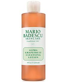 Alpha Grapefruit Cleansing Lotion, 8-oz.