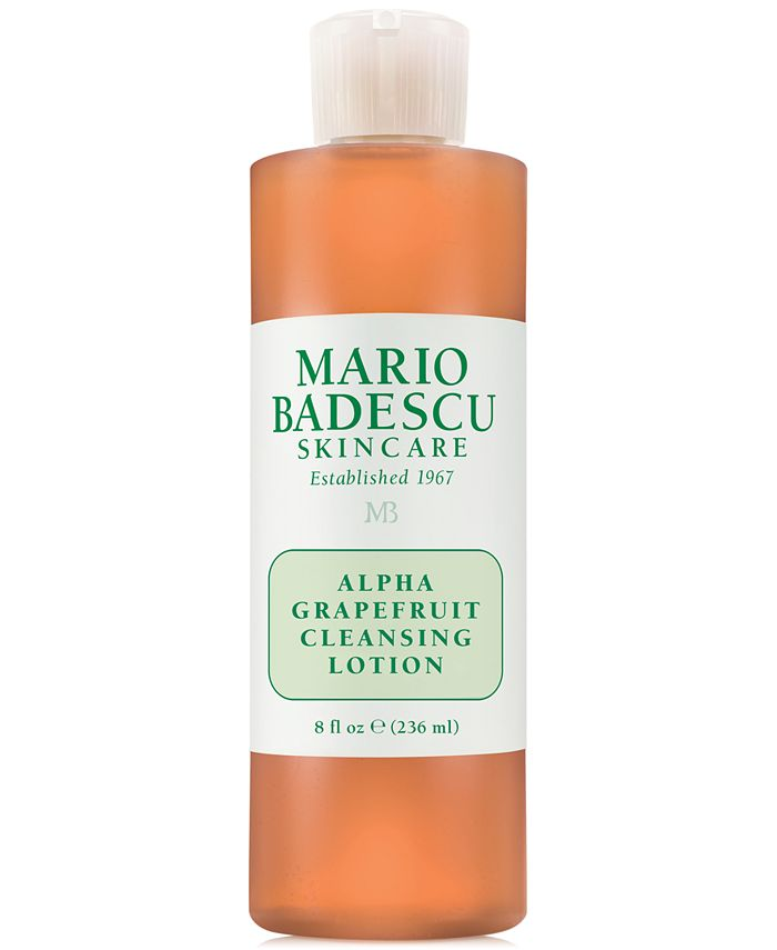 Mario Badescu - Alpha Grapefruit Cleansing Lotion, 8-oz.