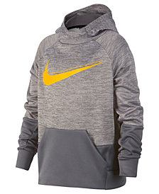 Nike Big Boys Therma Logo-Print Training Hoodie