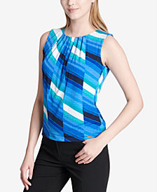 Calvin Klein Pleated Shell