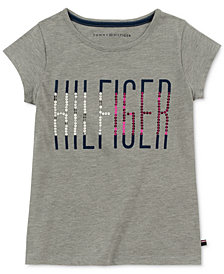 Tommy Hilfiger Big Girls Sequin T-Shirt