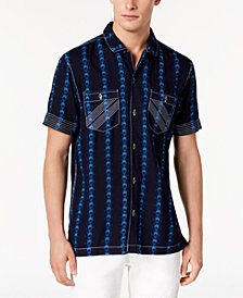 I.N.C. Men's Chain Print Shirt, Created for Macy's