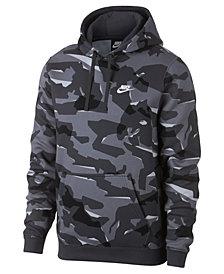 Nike Men's Sportswear Camo-Print Fleece Hoodie