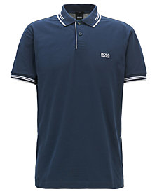 BOSS Men's Slim-Fit Stretch Cotton Polo