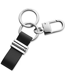 Montblanc Men's Meisterstück Leather Keychain