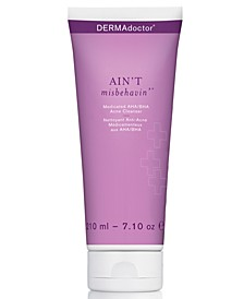 Ain't Misbehavin' Medicated AHA/BHA Acne Cleanser, 7.1-oz.