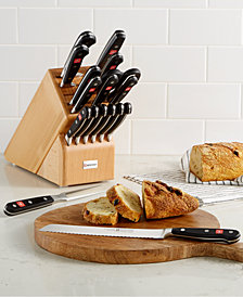 Wüsthof Classic 18-Pc. Cutlery Set & Block
