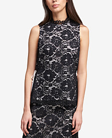 DKNY Lace Top, Created for Macy's