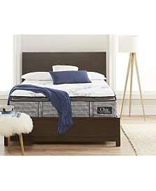 "Chic Couture Cool Gel Memory Foam and Wrapped Coil Hybrid 13"" Pillow Top Mattress, Quick Ship, Mattress in a Box- Twin"
