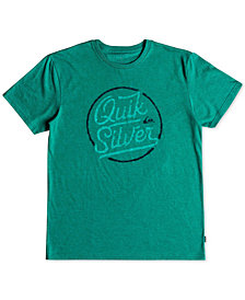 Quiksilver Men's Circle of Script Graphic-Print T-Shirt