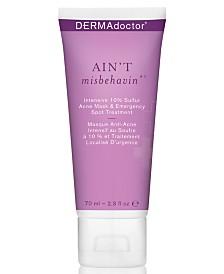 DERMAdoctor Ain't Misbehavin' Intensive 10% Sulfur Acne Mask & Emergency Spot Treatment, 2.3-oz.