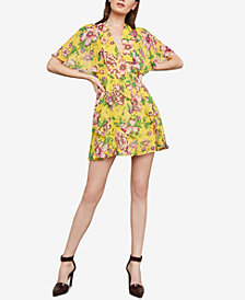 BCBGMAXAZRIA Mabel Floral A-Line Dress