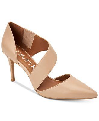 Calvin Klein Gella Pumps $109 (Macy's)