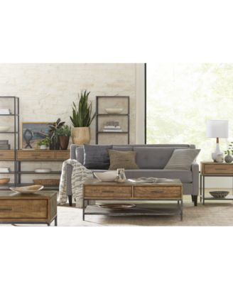 Gatlin Entertainment 3-Pc. Wall Unit (TV Stand & 2 Piers), Created for Macy's