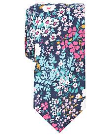 Tallia Men's Leroy Floral Slim Tie