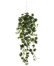 English Ivy Artificial Plant Hanging Basket