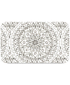 TarHong Boho Medallion Taupe Pet Placemat