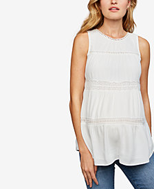 Daniel Rainn Maternity Tiered Top