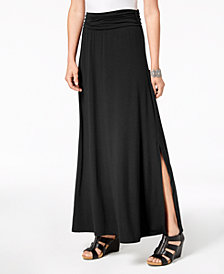 Style & Co Comfort-Waist Maxi Skirt, Created for Macy's