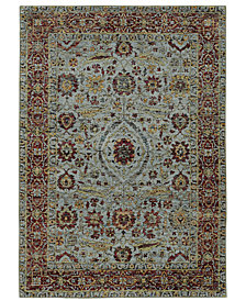 "Macy's Fine Rug Gallery Journey Navarre Blue 10' x 13' 2"" Area Rug"