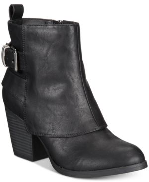 Image of American Rag Lilah Ankle Booties, Created For Macy's Women's Shoes