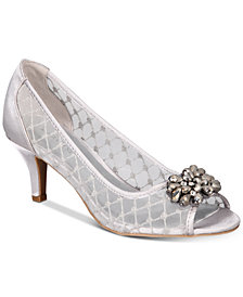 Karen Scott Maralyn Peep-Toe Evening Pumps, Created for Macy's