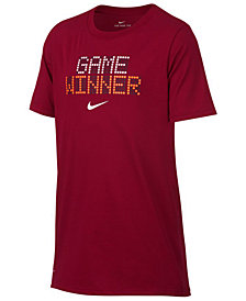 Nike Big Boys Winner-Print T-Shirt