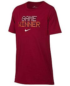 Nike Big Boys Winner-Print T-Shirt