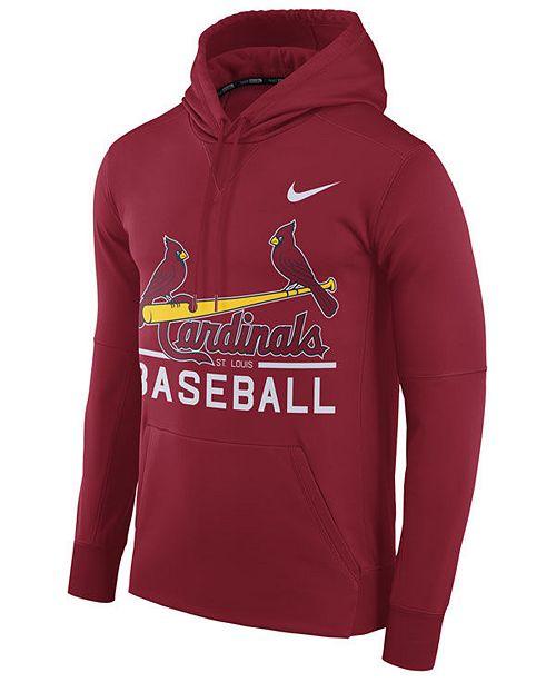 Nike Men's St. Louis Cardinals Therma Hoodie