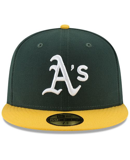 super popular c50e2 5300b ... Oakland Athletics Authentic Collection 50th Anniversary 59FIFTY Fitted  Cap ...