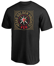 Majestic Men's Vegas Golden Knights Circular High Density T-Shirt