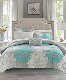 Madison Park Essentials Maible Reversible 9-Pc. California King Comforter Set