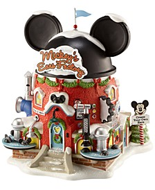 North Pole Village Mickey's Ears Factory Collectible Figurine